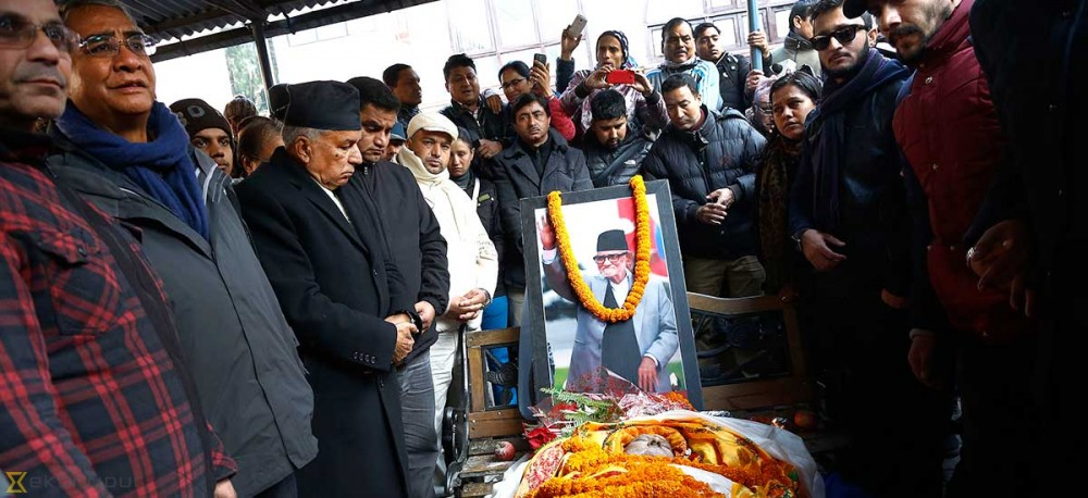 Cabinet decision: Koirala to be honoured with state funeral, public holiday on Wednesday