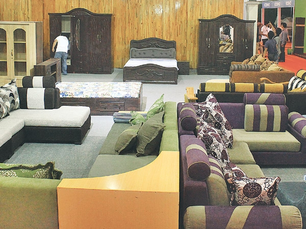 New look furniture thrills nepali homeowners money the for Living room design in nepal