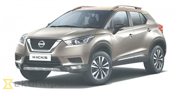 Drive off in a Nissan Kicks for Rs4.79m