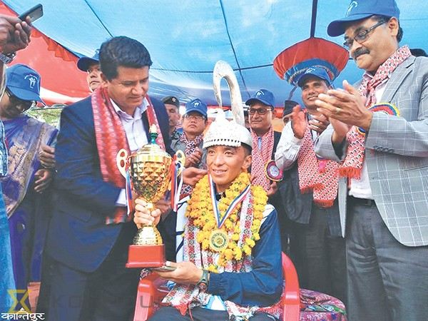 Thapa Magar reigns in traditional Liglige Daud