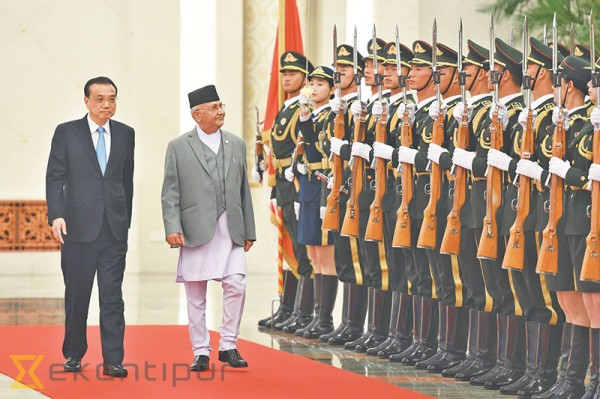 PM Oli winds up Beijing visit on high note