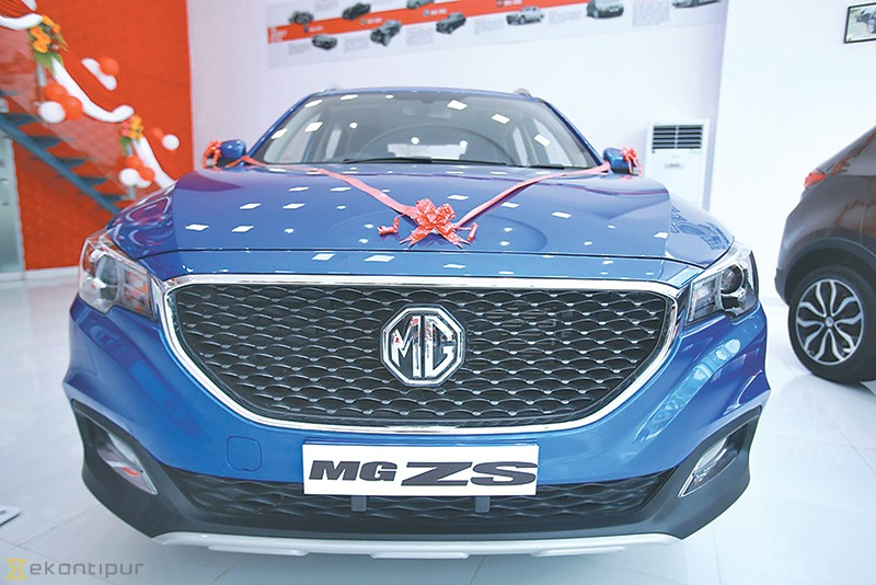 Mg Motor Debuts In Nepal With Gs And Zs Money The Kathmandu Post