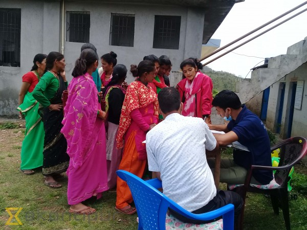 Baitadi women await health camps to seek treatment for reproductive health-related ailments