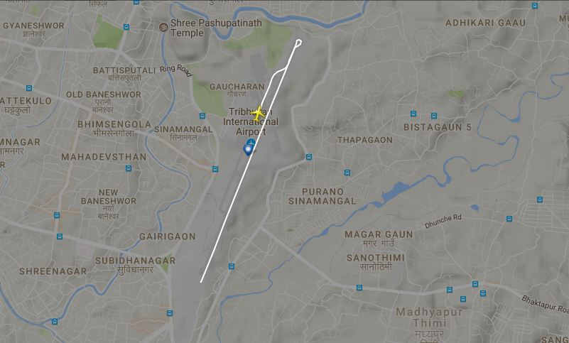 Plane skids off runway during takeoff, Kathmandu airport shut