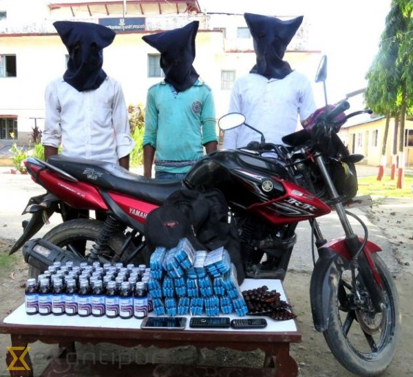 Three arrested with controlled pharmaceutical drugs