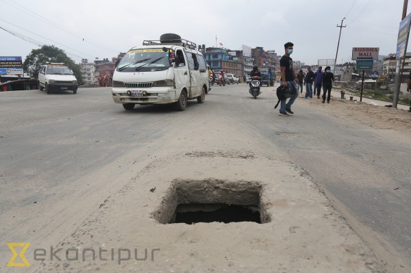 As monsoon nears, open drains and uncovered manholes pose even bigger risks