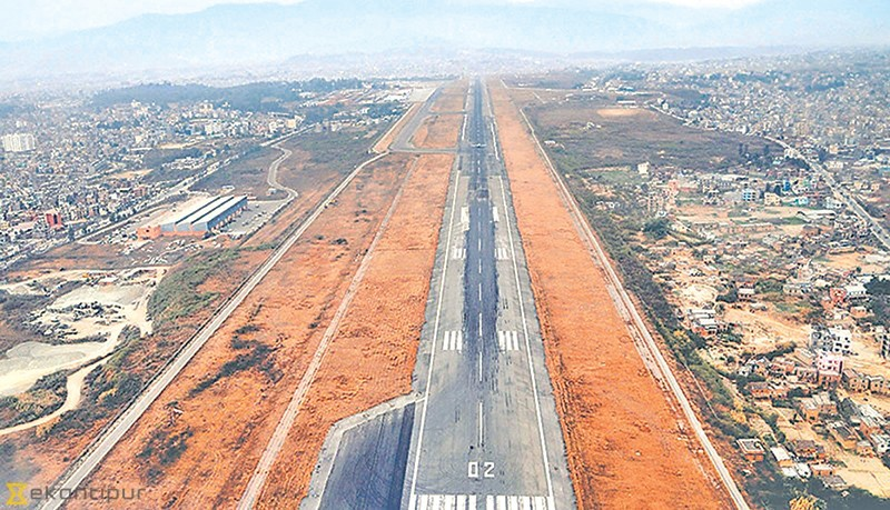Tribhuvan International Airport runway extension project gets go-ahead  http://kathmandupost.ekantipur.com/news/2018-12-23/tia-runway-extension-project-gets-go-ahead.html