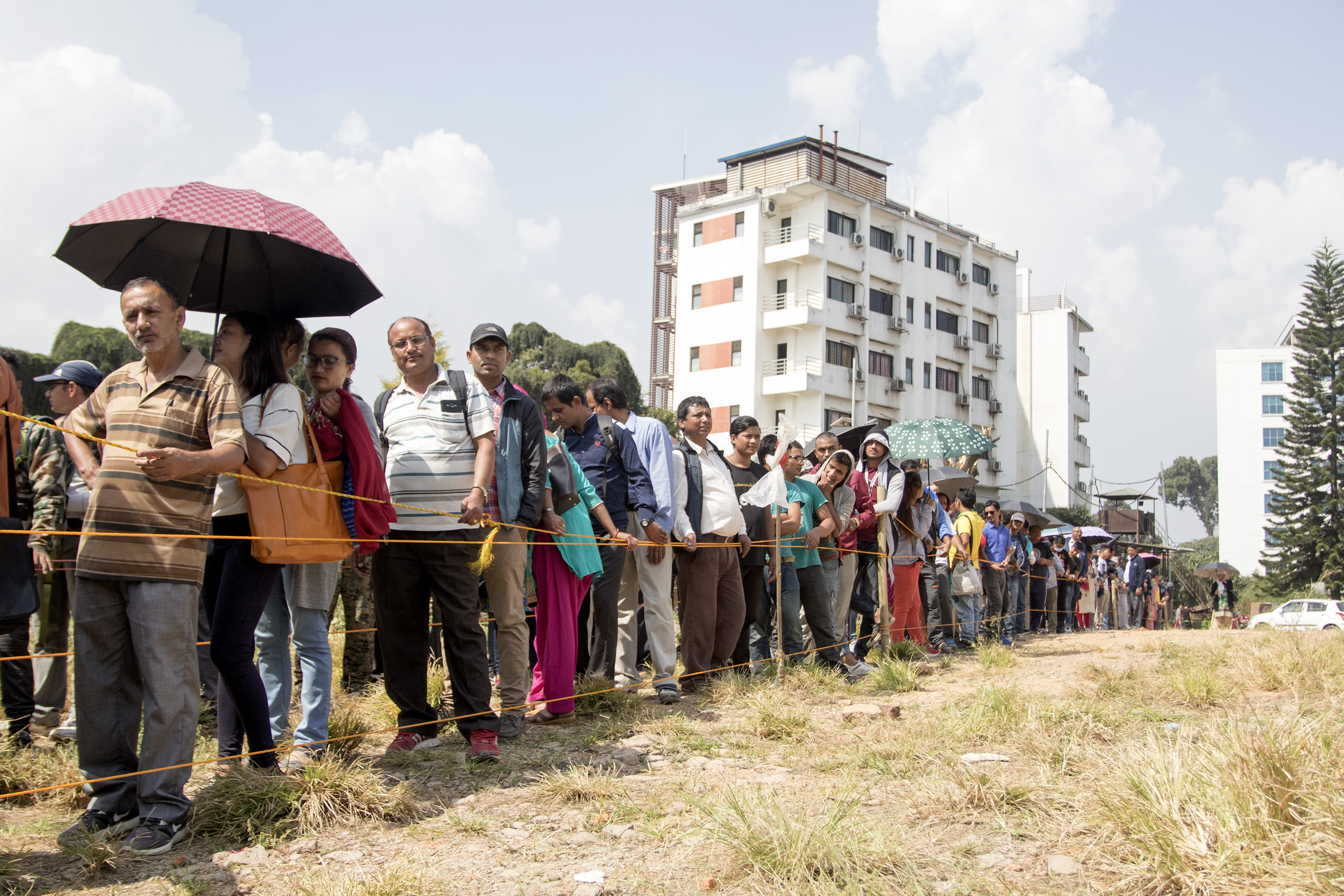 People queue up to collect new notes for Dashain (In photos) - Visual Story - The Kathmandu Post