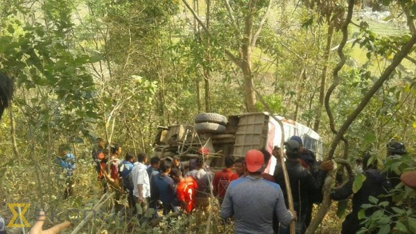 3 killed in Sindhupalchok bus accident