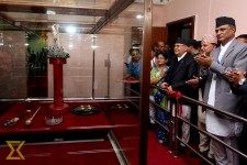 Crown and scepter put on display at Narayanhiti Museum (in photos)