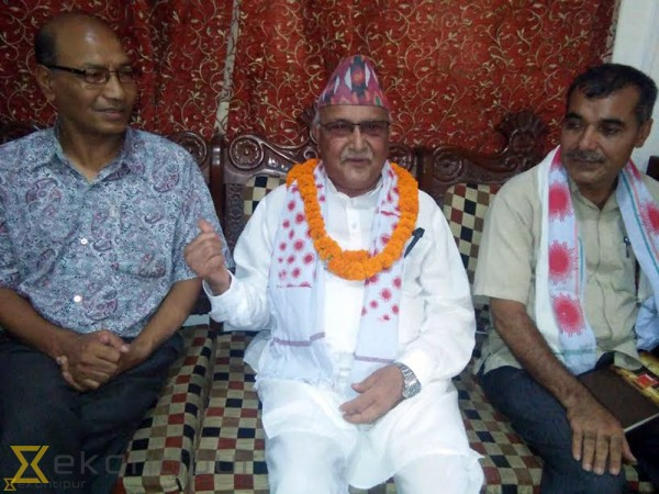 Constitution will be amended, but current proposal won't be endorsed: Oli