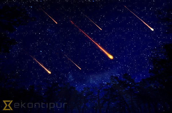 Meteor Shower To Occur Tonight National The Kathmandu Post