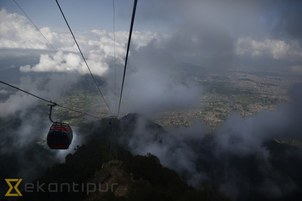 Chandragiri cable car carries 20k visitors in first fortnight