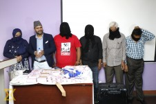 Three Pakistani nationals arrested with millions of Indian currency