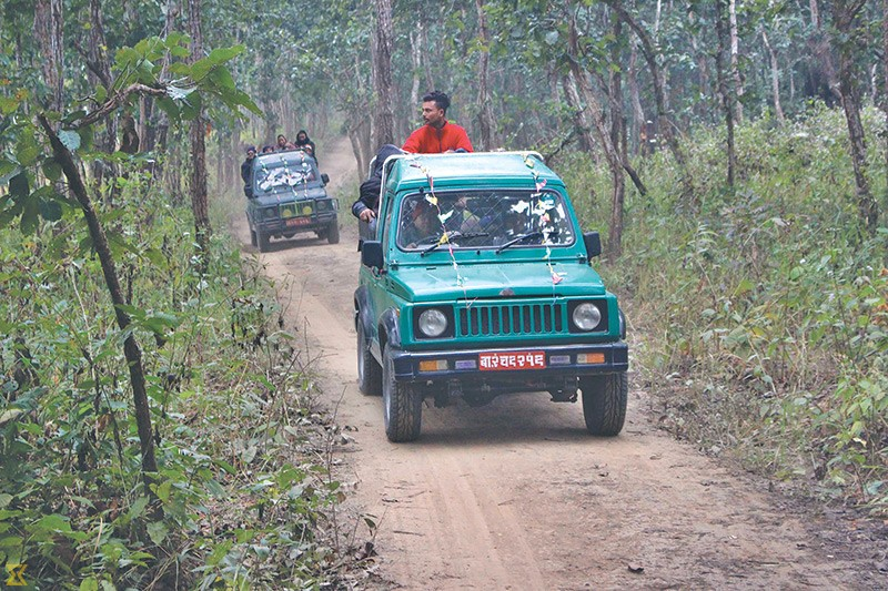 Jeep safari to cement Patihani as tourism spot