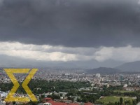 Monsoon clouds are seen over the Kathmandu Valley on Thursday.