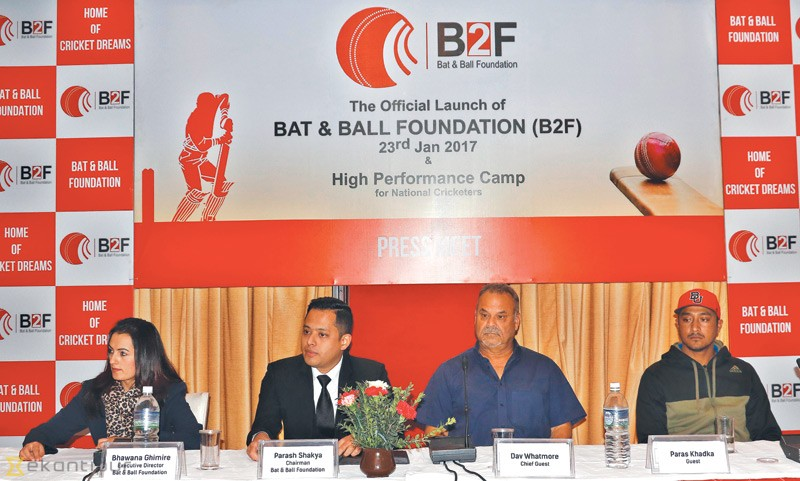 Bat And Ball Foundation Launched