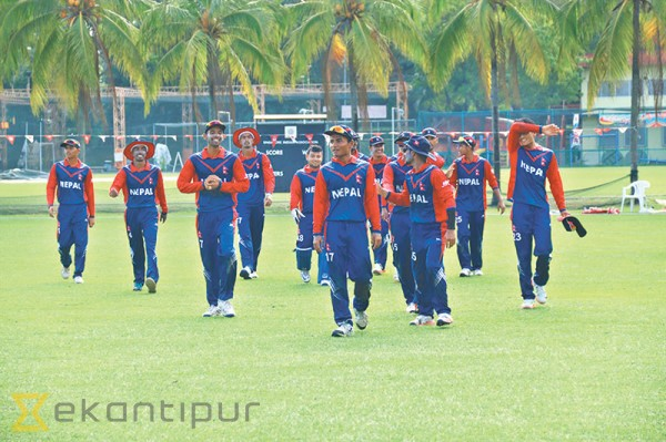 Nepal pull off battling victory