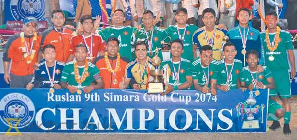 Simara Gold Cup: Army cruise to fifth title