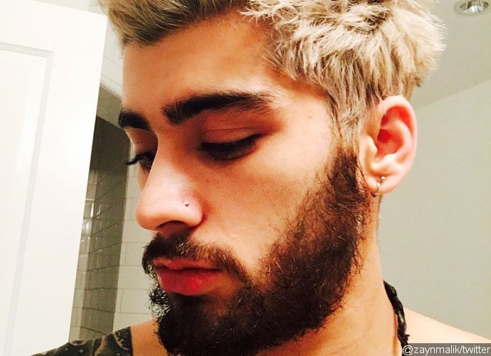 Dec 13 2015 Former One Direction Member Zayn Malik Has Changed His Hair Colour To Blonde