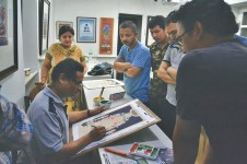 A new generation of Paubha artists in the making