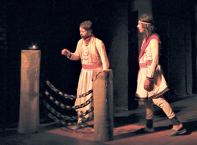 a study of girish karnads yayati The plays of girish karnad  in order to attain deeper insight to study and analyze karnad's plays, it  the fire and the rain and yayati are rooted in.