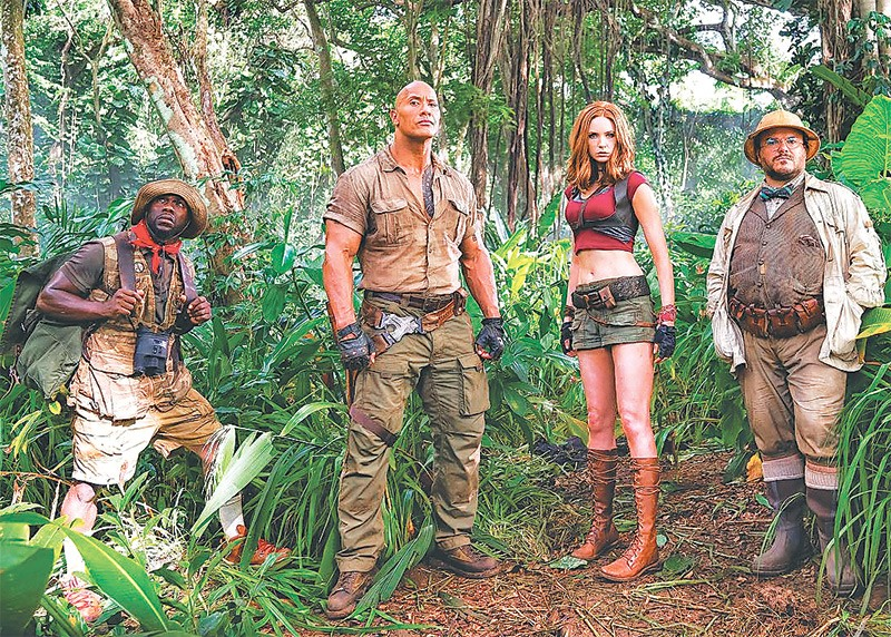 Jumanji sequel with a new twist entertainment the kathmandu post jul 2 2017 the first jumanji told the story of a boy trapped in the magical board game for 26 years he is released as a grown man robin williams when stopboris Gallery