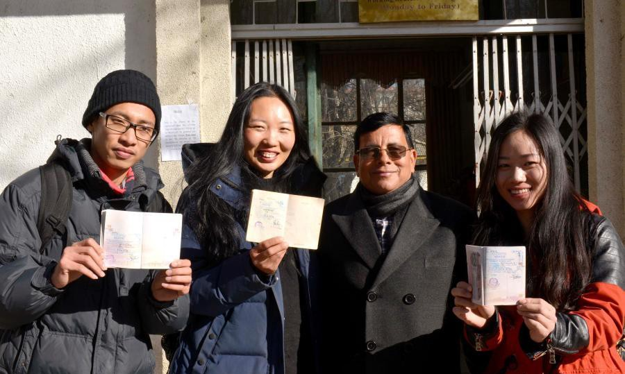 First batch of Chinese tourists receive Nepal's visa fee waiver facilities