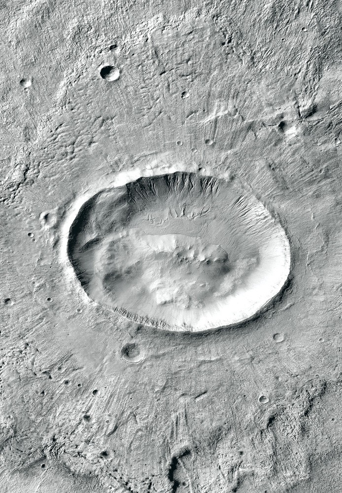 Martian crater named after Langtang