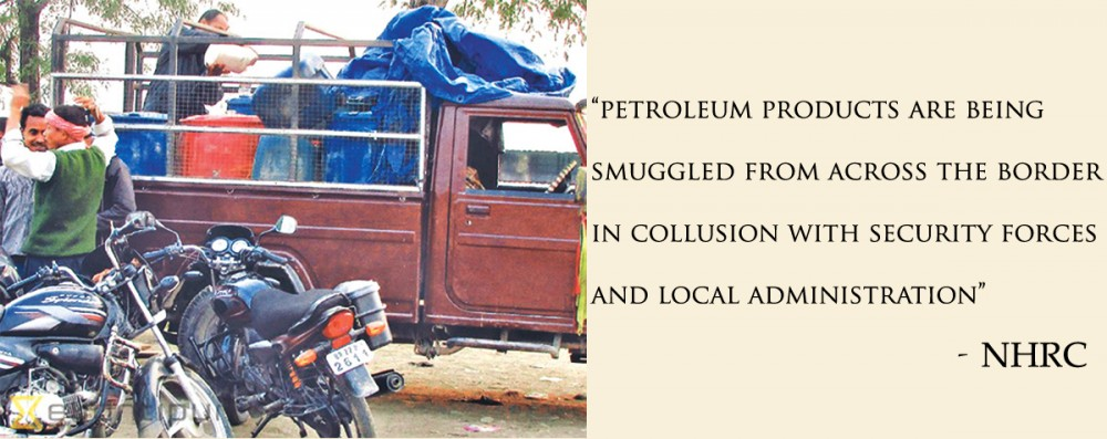 Govt agencies found involved in smuggling of fuel: NHRC