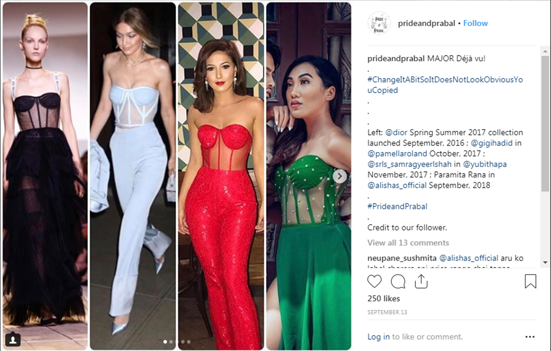 An Instagram Page Is Shaming Copycat Nepali Designers