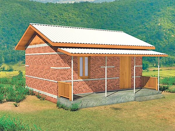 17 earthquake resistant house designs proposed national for Residential house design in nepal