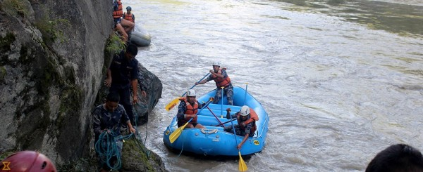 Trishuli bus accident: Police receive applications for 12 missing people