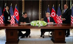 Trump, Kim sign 'comprehensive' document (with joint statement)