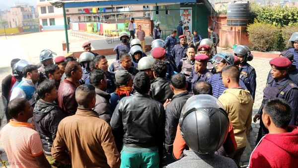 Tension grips Banepa-based school following mysterious death of student