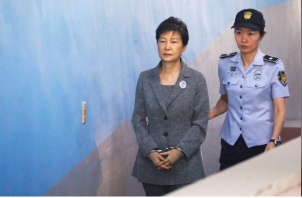 South Korean court sentences president Park Geun-hye to another eight years in jail