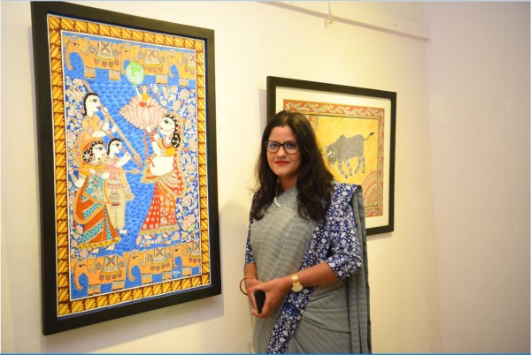 How one artist is using Mithila painting to challenge social norms