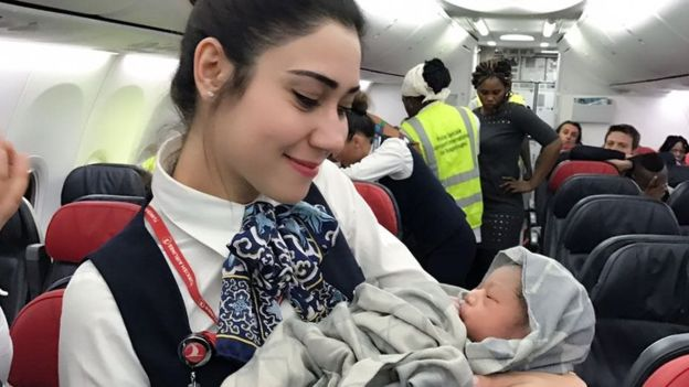 Baby delivered midflight with help of Turkish Airlines crew