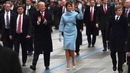 Trump inauguration: President vows to end 'American carnage'