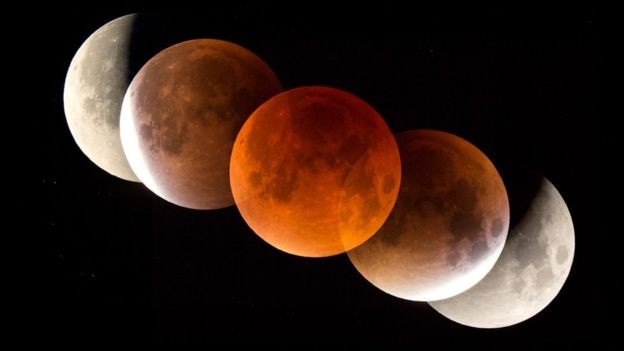 How rare is tonights lunar eclipse