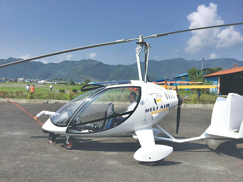 Gyrocopter set to fly in Pokhara skies - Money