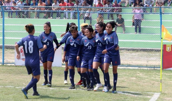 Nepal reach Saff Women's Championship final