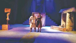 A new theatre in Pokhara