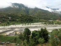 Flooded Ranjor River in Manthali destroys 100 ropanis of paddy field