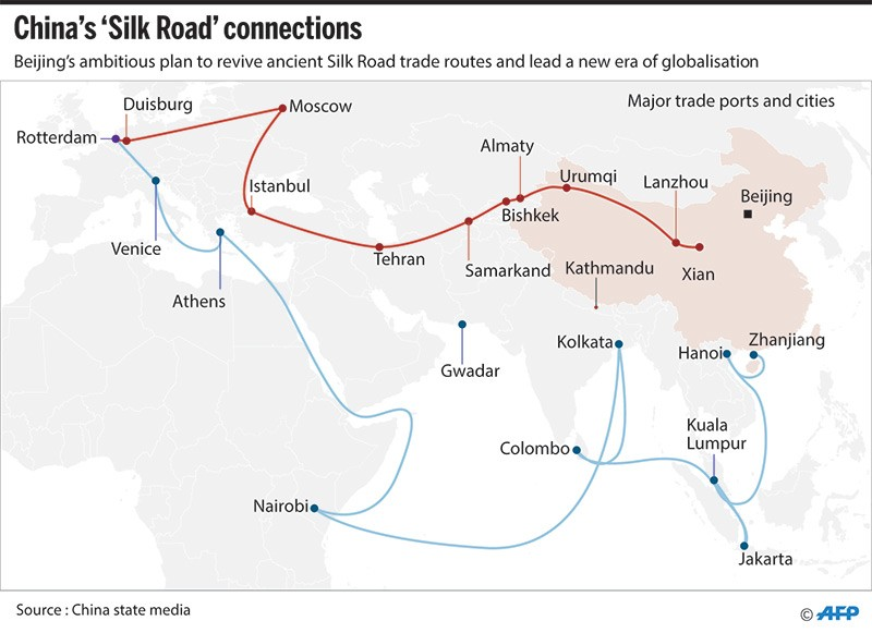 Nepal china to ink deal on obor today national the kathmandu post may 12 2017 nepal and china are set to sign a framework agreement on chinas one belt one road obor initiative on friday days ahead of a summit in gumiabroncs Gallery