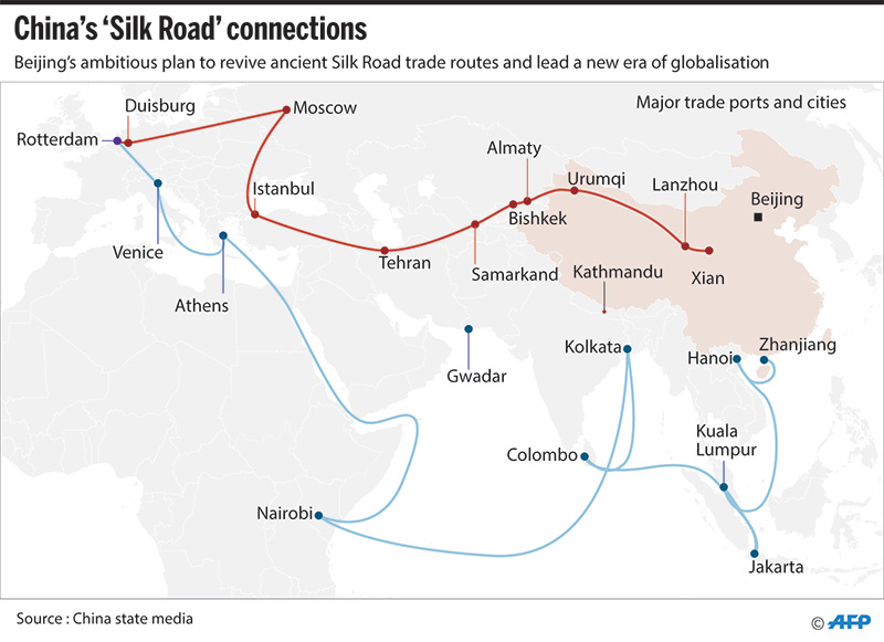 China's Silk Road forum latest effort to boost Xi's stature