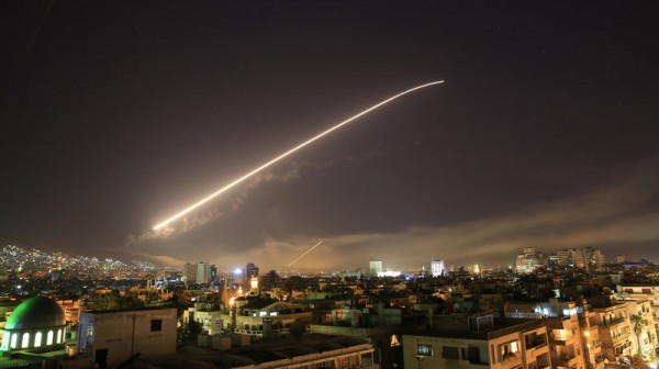Syria air strikes: US and allies attack 'chemical weapons sites'