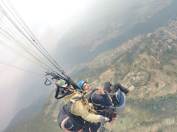 Commercial paragliding to be started in Parbat