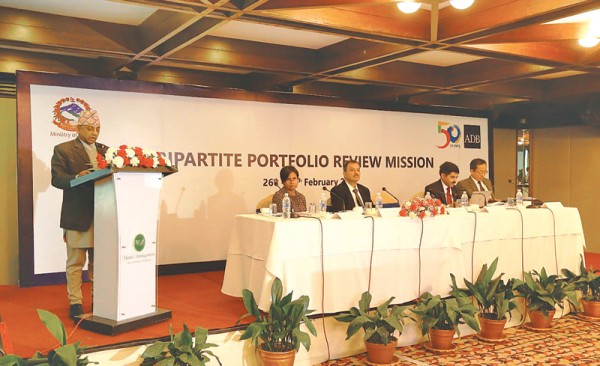 ADB funded projects set record in Nepal