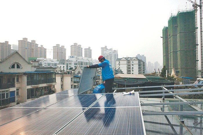 China is home to two-thirds of the world's solar-production capacity, and buys half of the world's new ...